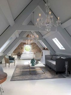 Amazing Idea About Loft Living Rooms You Need To Sample 22
