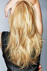 long layered hair-this but alil shorter. I like this. It's plain but it would be different for me.
