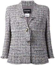 Chanel Vintage bouclé knit jacket