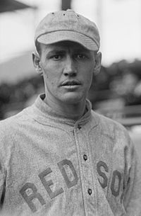 """Howard Ellsworth """"Smoky Joe"""" Wood (October 25, 1889 – July 27, 1985) was a professional baseball player. He played all or part of fourteen seasons in Major League Baseball. He played for the Boston Red Sox from 1908-15, where he was primarily a pitcher, for the Cleveland Indians from 1917-22, where he was primarily an outfielder. He is one of only 13 pitchers who won 30 or more games in..."""