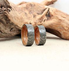 Bourbon barrel wedding ring!