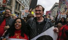 Quentin Tarantino Joins Police Brutality Protest in New York, NYPD Calls for Film Boycott