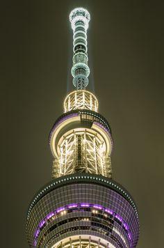 """dontrblgme:   Tokyo Sky Tree night shots (via Ikusuki)   """