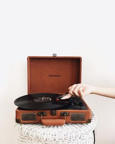 A piece of advice: always start your mornings with your favorite record.