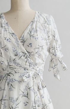 Vintage Inspired Dress / Pretty Floral Dresses / Lost in Provence Dress