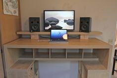IKEA Hackers: Expedit standing desk