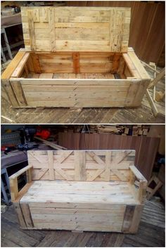 Awesome DIY Ideas for Wood Pallets Repurposing Pallet Lounge, Diy Pallet Sofa, Pallet Bench, Diy Pallet Projects, Pallet Furniture, Wood Projects, Garden Furniture, Recycled Pallets, Wooden Pallets