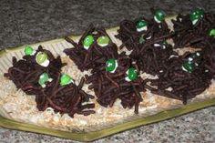 Fun Halloween Snacks - Haystack Creatures!