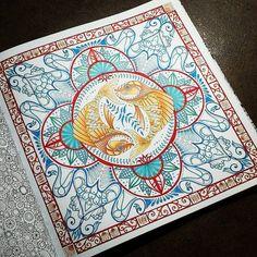"""""""#johannabasford #lostocean #coloring"""""""