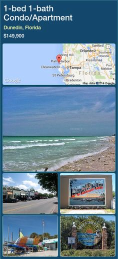 1-bed 1-bath Condo/Apartment in Dunedin, Florida ►$149,900 #PropertyForSaleFlorida http://florida-magic.com/properties/31786-condo-apartment-for-sale-in-dunedin-florida-with-1-bedroom-1-bathroom