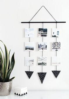 photo wall hanging