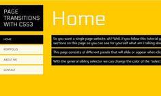 26 Fresh jQuery & Tutorials From 2012 - DesignM. Css Animation Effects, Web Design Tutorials, Text Effects, Best Web, Web Development, Website, Learning, Amazing, Fresh