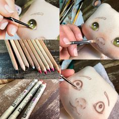 1 million+ Stunning Free Images to Use Anywhere Primitive Doll Patterns, Doll Patterns Free, Diy Doll Eyes, Doll Face Paint, Homemade Dolls, Creation Couture, Doll Tutorial, Sewing Dolls, Soft Dolls