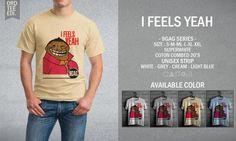 Kaos Distro I Feels Yeah – 9GAG Series - PulauBelanja.Com