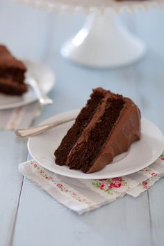 Classic Chocolate Layer Cake | Annie's Eats by annieseats.com #cake #chocolate #chocolatecake