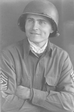1st. Sgt. Vic Morman served with the 89th Infantry Division in Europe during World War II. His unit was the first American division to liberate a Nazi concentration camp in Germany. photo provided