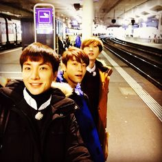 Super Junior One Fine Day in Bern, Switzerland #Leeteuk #Donghae #Eunhyuk