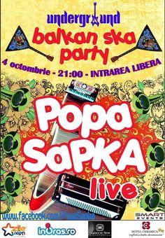 Concert Popa Sapka in Underground Pub