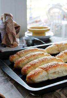 Kifli - Macedonian Cheese Rolls @Kate Petrovska   Diethood