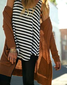 Sweaters And Stripes - A Hippie's Daughter