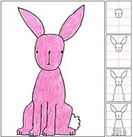 Did these bunnies with my 3rd graders - they loved them a really ridiculous amount