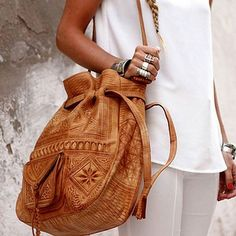 The  Vagabond  hand embossed leather bag   BY Pamela V   shop the look 822d343fa8