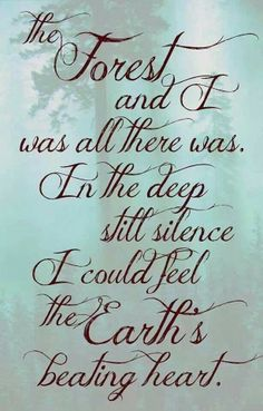 Mother Earth •~• ...the Earth's beating heart.