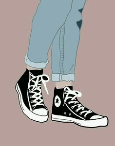 Converse✨ Chucks by Nicole Wilson Shoes Wallpaper, Tumblr Wallpaper, Girl Wallpaper, Converse Wallpaper, Wallpaper Ideas, Moomin Wallpaper, Fashion Wallpaper, Screen Wallpaper, Cute Backgrounds