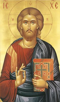 """Jesus Christ, the Son of God, the Savior ( source ) """"Since our sweet Jesus is so good, compassionate and kind, why should you des. Religious Images, Religious Icons, Religious Art, Byzantine Art, Byzantine Icons, Religion, Orthodox Christianity, Orthodox Icons, Christen"""