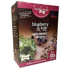 TreatSimple Premium, All Natural Dog Treats, Blueberry Kale Recipe inch bone) Value Pack, 4 lbs Dog Breeds Little, Giant Dog Breeds, Giant Dogs, Dog Training Treats, Best Dog Training, Training Videos, Purina Dog Food, Big Dog Toys, Dog Breed Names