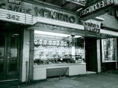 Veniero's on E 11th Street, 1984.  From New York / Bedford and Bowery.