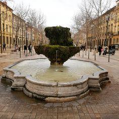 Aix en Provence Fontaine des Neufs canons #aixenprovence #fontaine #coursmirabeau #patrimoine #culture #histoire #eau