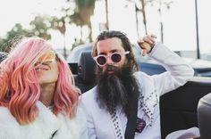Badass Wedding Photos! The Coolest Couple Ever : AINSLEY & SEBASTIEN