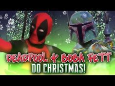 Deadpool and Boba Fett Do Christmas    So Deadpool & Boba Fett hit up London with some Christmas Spirit and shenanigans this year, Wade was determined to have a go on the spinning horseys!    Merry Christmas & a Happy New Year from Gary & Nick at Sneaky Zebra plus a huge thank you to everyone who's supported us in 2012. More shenanigans coming in 20...