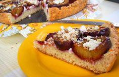 Slivkovo tvarohový koláč • recept • bonvivani.sk