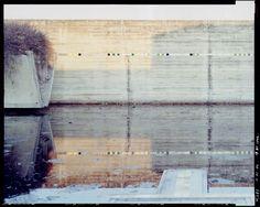 Tomba Brion, Carlo Scarpa, Photograph by Guido Guidi, 1996 – 1998.