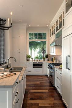 Private Residence 30 - traditional - kitchen - other metro - Kukk Architecture & Design P.A.