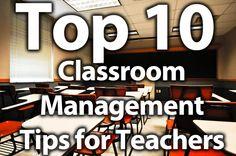 10 helpful classroom management tips for teachers.