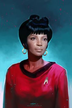 Uhura by ChristinZakh.deviantart.com on @deviantART