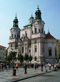 St. Nicholas' Church, Prague, Czech Republic, UK