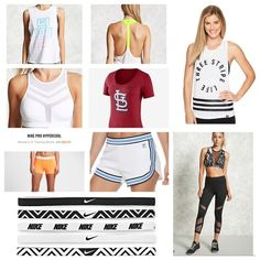 Workout Gear under $25.00  #sportswear #fashion #ssCollective #ShopStyleCollective #ShopStyleFestival #ootd #summerstyle #wearitloveit #getthelook #mylook #lookoftheday #currentlywearing #MyShopStyle #springstyle #todaysdetails Nike Pros, Workout Gear, Festival Fashion, Get The Look, Cloths, Spring Fashion, Sportswear, Ootd, Swimwear