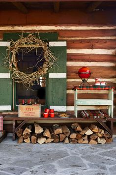 Deck Your Front Porch  - CountryLiving.com