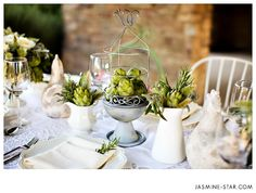 French Farmhouse Inspired Tablescape