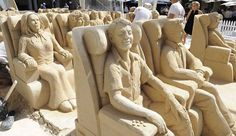 Airplane Ride Sandcastles