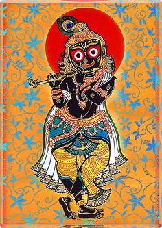 Luminous Art Jagannatha Krishna
