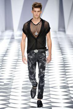 Versace Spring 2011 #Menswear #Versace #fashionweek