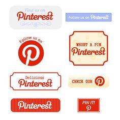 Pinterest buttons!