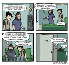 Coders' priorities | CommitStrip - Blog relating the daily life of web agencies developers