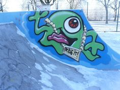 Крутые рисунки на скейт парк