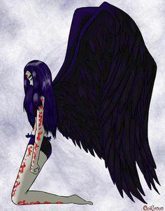 Birthmark_by_OniCrono_by_teentitans - tineri titani - dumitruandreea Teen Titans Raven, Robin And Raven, Raven Cosplay, Raven Beast Boy, Original Teen Titans, Rabe, Marvel Dc Comics, Cartoon Art, Comic Art